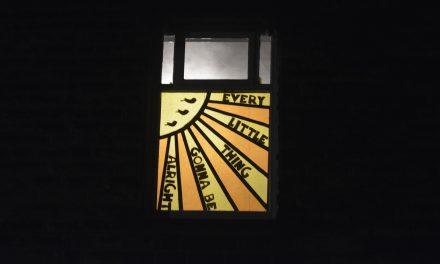 Window Wonderland at Slaithwaite Moonshine Festival