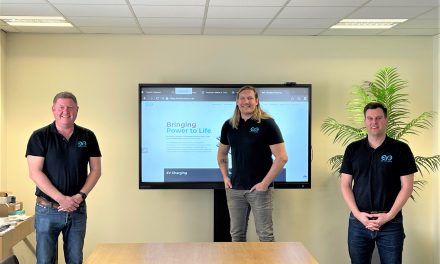 Eorl Crabtree fuels EV3 Power's climate change campaign