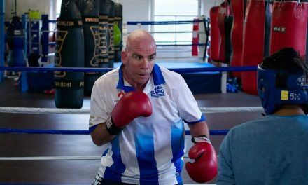 Boxing clever with Mark Reynolds and Rawthorpe ABC
