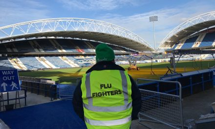 Vaccination centre to remain at John Smith's Stadium until September at least