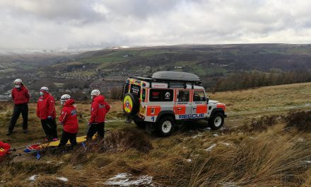 Holme Valley Mountain Rescue is Mayor's charity