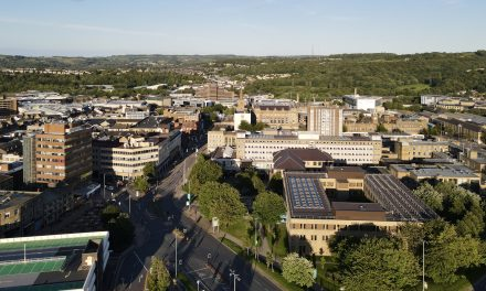 Watch: Drone Video of Huddersfield from above