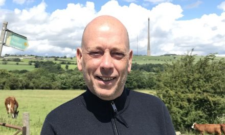 MP Mark Eastwood makes 15,000ft parachute jump for The Kirkwood