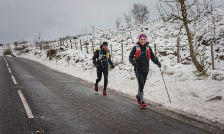 Pals run 30 miles a day for a week for Andy's Man Club