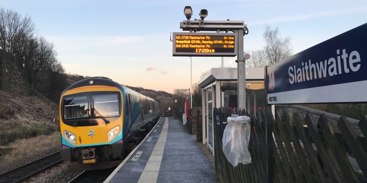 Community pressure needed for trains to stop in Slaithwaite and Marsden every 30 minutes