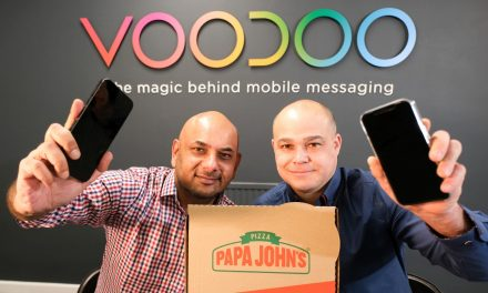VOODOO grabs pizza the action for Papa John's