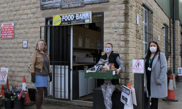 Thongsbridge Food Bank helping 150 families – and rising