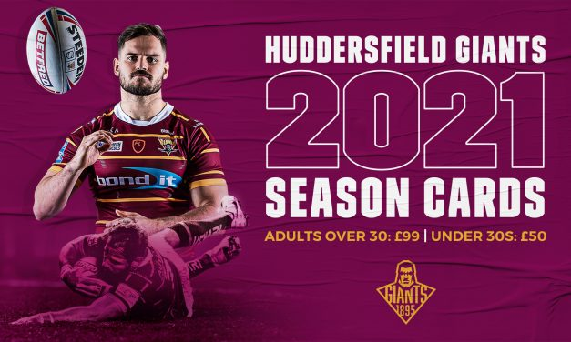 Huddersfield Giants season cards 2021 cheapest in Super League
