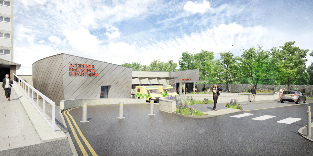 First look at new A&E for HRI as part of near £200m investment in healthcare