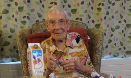 Hats off to knitter Grace aged 103