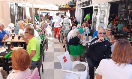 Irish eyes smiling as Covid restrictions in Spain are eased