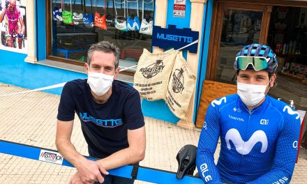 Pro cyclist Gabz Cullaigh finds it no pain in Spain