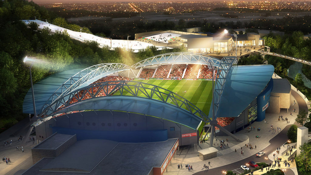 Council proposes new ownership structure for John Smith's Stadium amid debt warning