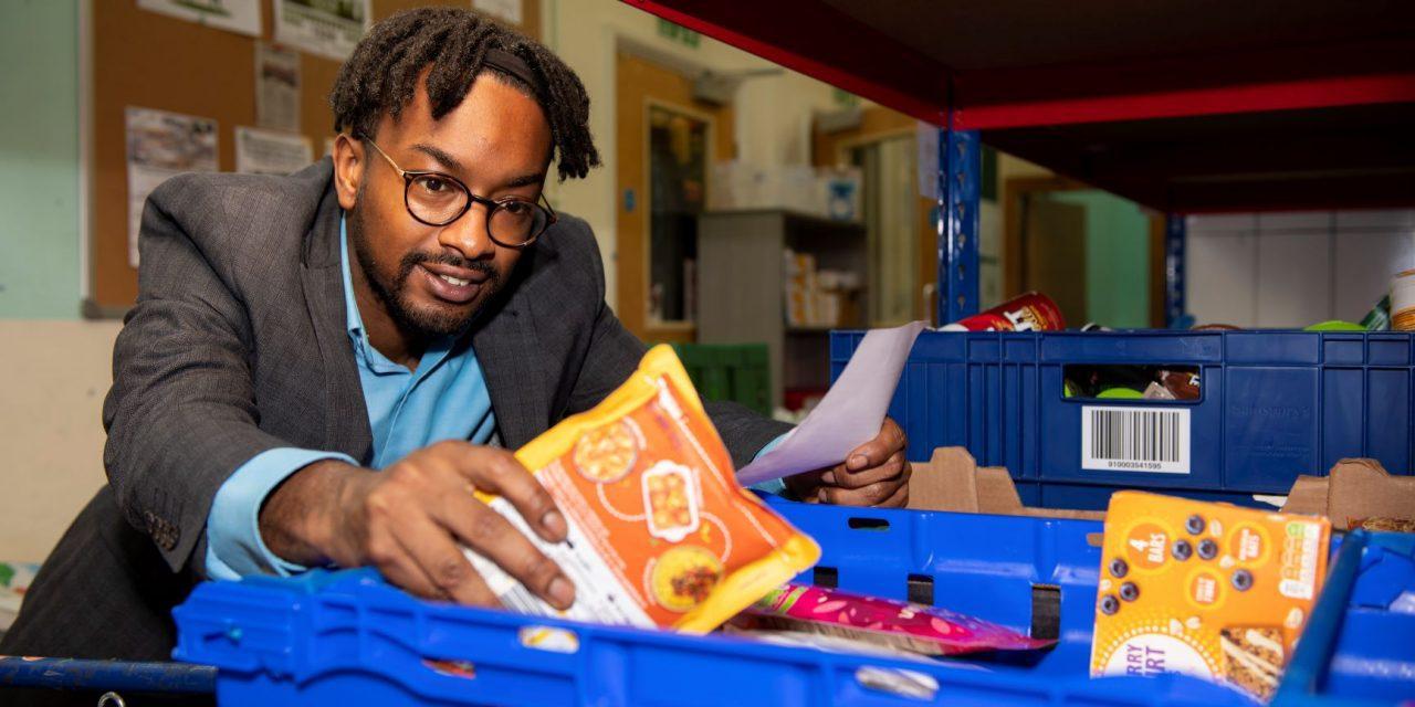 Grand gesture as Stafflex backs Welcome Centre food bank