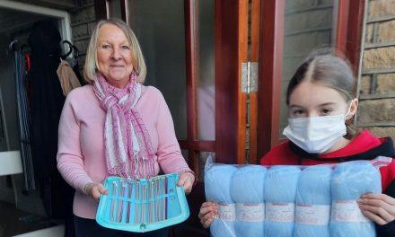 Help knit tiny bonnets for premature babies