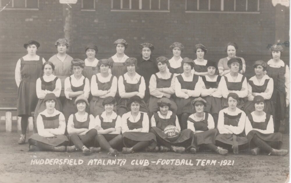 The history of women's football in Huddersfield