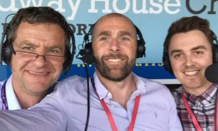 Matt Glennon on cutting it as a commentator and a barber