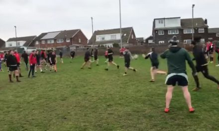 Big turnout at Huddersfield YMCA's first training session