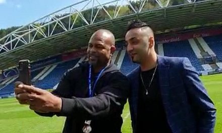 Roy Jones Jnr visits John Smith's Stadium with Fes Batista raising hopes of dream double-header boxing bill