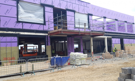 Brambles Primary Academy new building on target to open in September