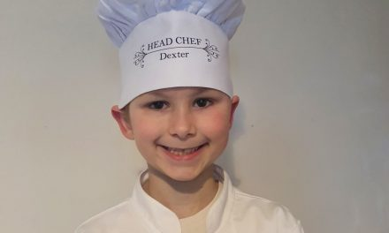 Meet Dexter the mini master chef on a mission