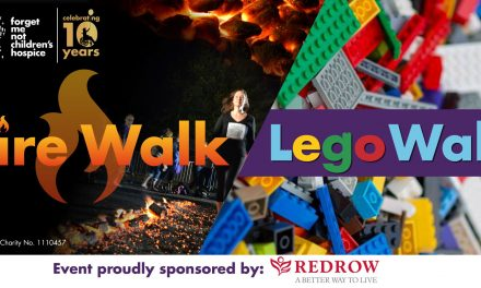 Walk over hot coals or Lego bricks for Forget Me Not Children's hospice