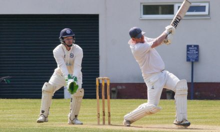 Jones Homes brings century up and helps Golcar Cricket Club celebrate 150th anniversary
