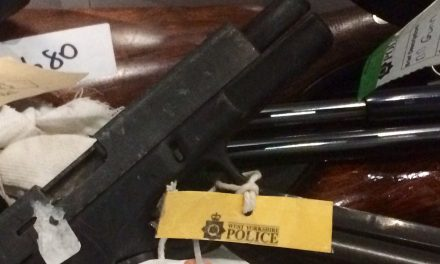 Firearms discharges in West Yorkshire at a five-year low