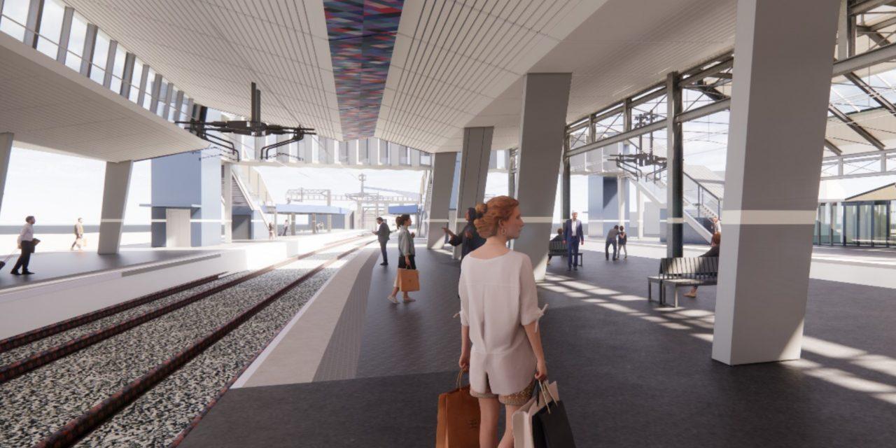 Futuristic new look for Huddersfield Railway Station