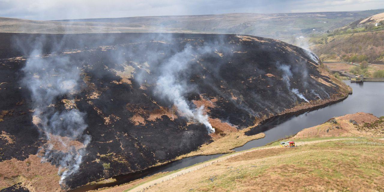 Marsden Moor fire: £150 fine is no deterrent