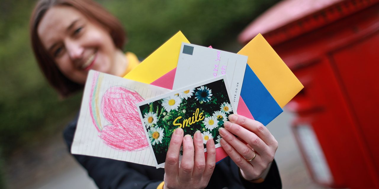 Give… A Few Words letter-writing project helps combat loneliness