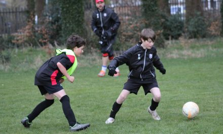Junior footballers at Laund Hill Under-11s loving being back after lockdown
