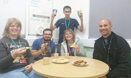 Stafflex supports Kirklees College Breakfast Club – for the fourth successive year