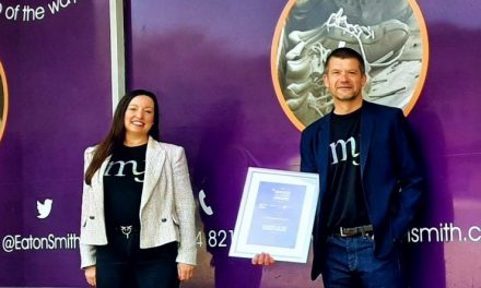 My Management Accountant wins Eaton Smith Business of the Month Award
