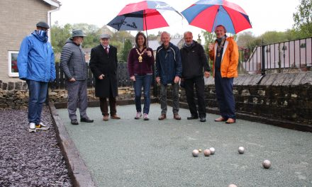 Why bother going to France when you can now play boules in Brockholes?