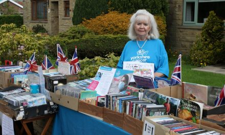 Eileen sets her stall out and raises £2.5k for Yorkshire Cancer Research