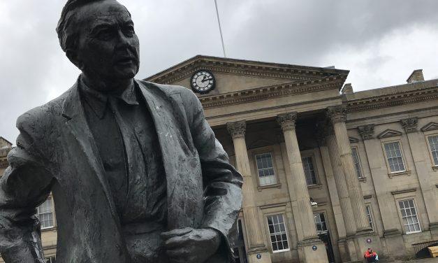 Woven festival knitters set to yarn bomb Huddersfield Railway Station