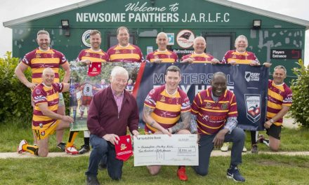Huddersfield masters prove age is no barrier in rugby league