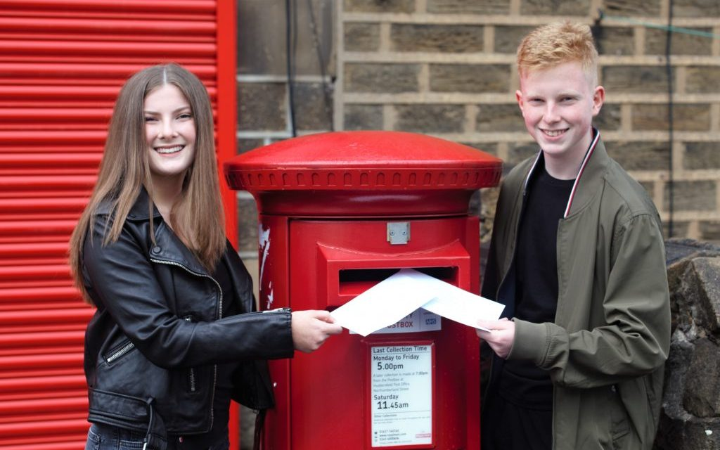 Twins Dan and Imi have the write stuff for National Volunteers' Week