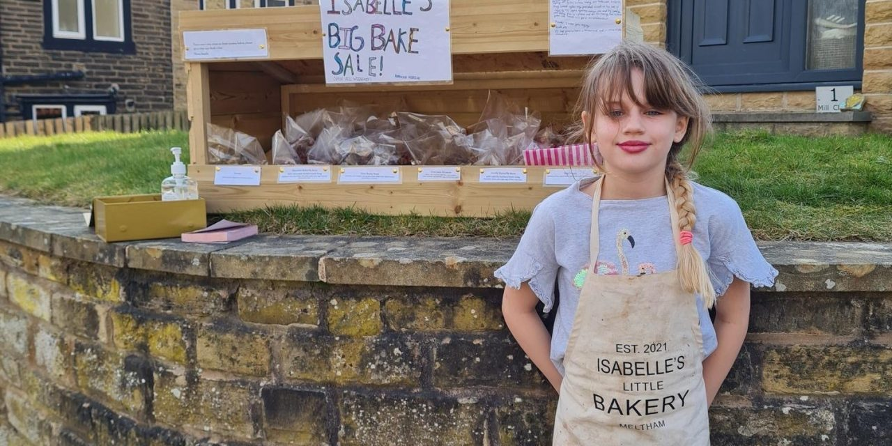 New challenge for Meltham's 9-year-old star baker Isabelle Wingate