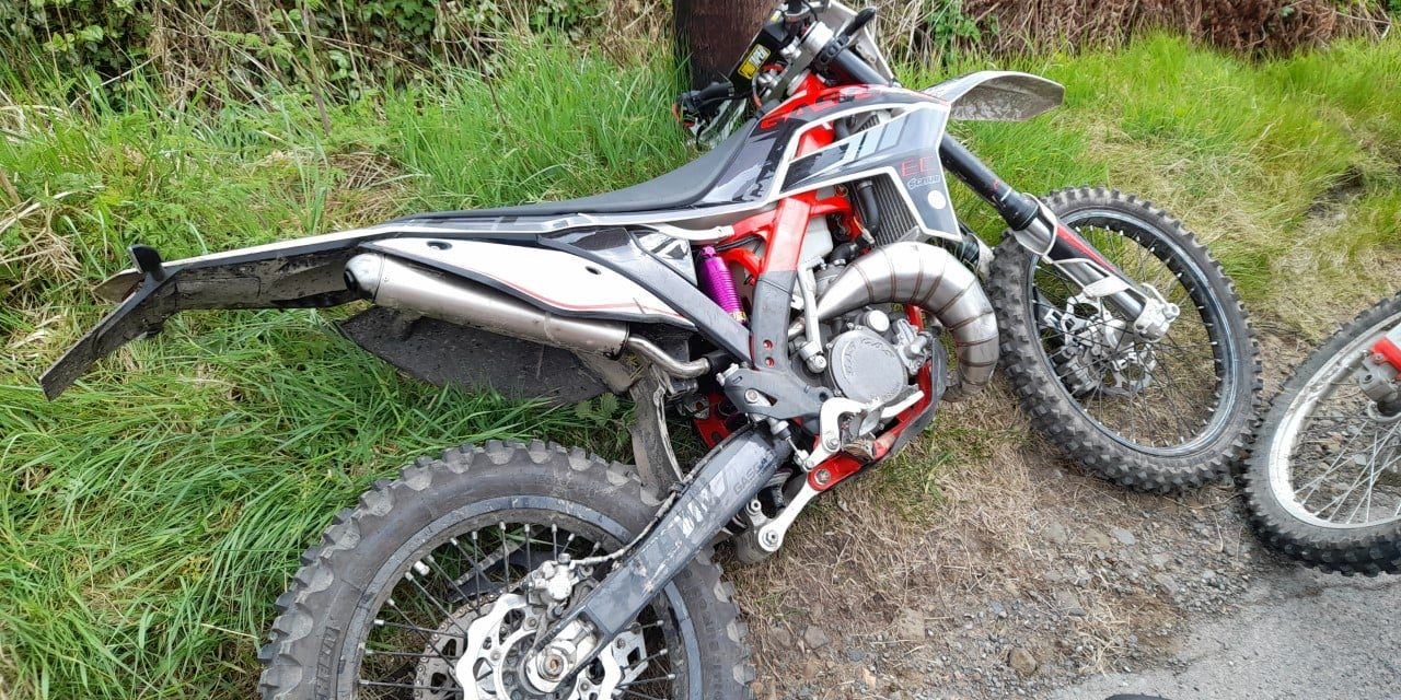 Police seize illegal off-road bike and want more information on nuisance bikers
