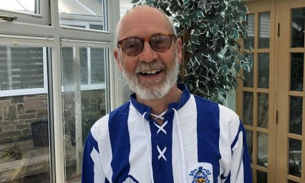 Sharing Huddersfield Town memories with club legend Andy Booth