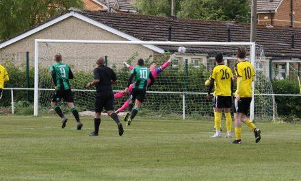 A brace apiece from Alex Hallam and Buddy Cox fires Golcar United into Yorkshire Trophy semi-finals
