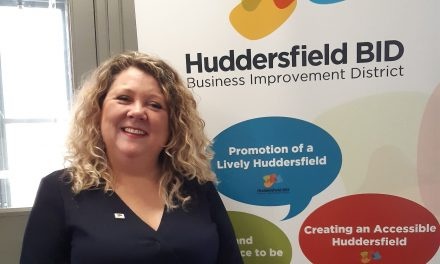 'Huddersfield is great – let's shout about it' says new manager of Huddersfield BID