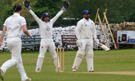 Cyrus takes wrecking ball to champions Hoylandswaine in Huddersfield Cricket League