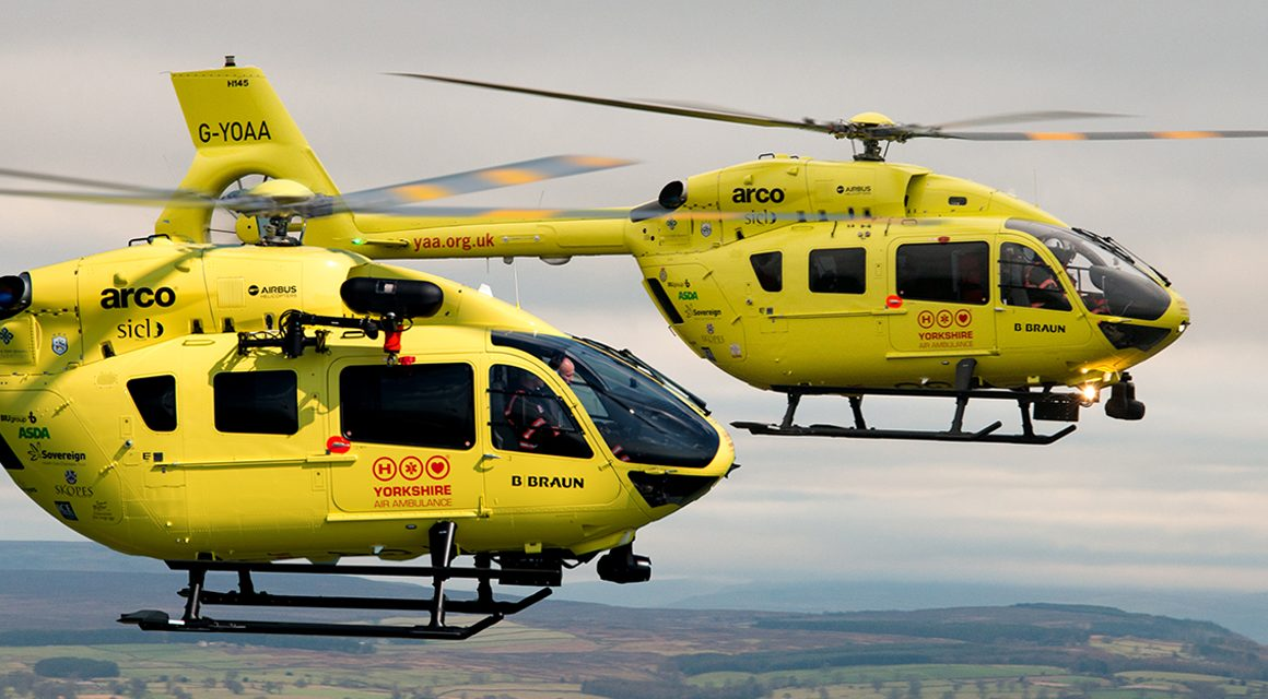 Yorkshire Air Ambulance to get two new helicopters at a cost of £15.3 million