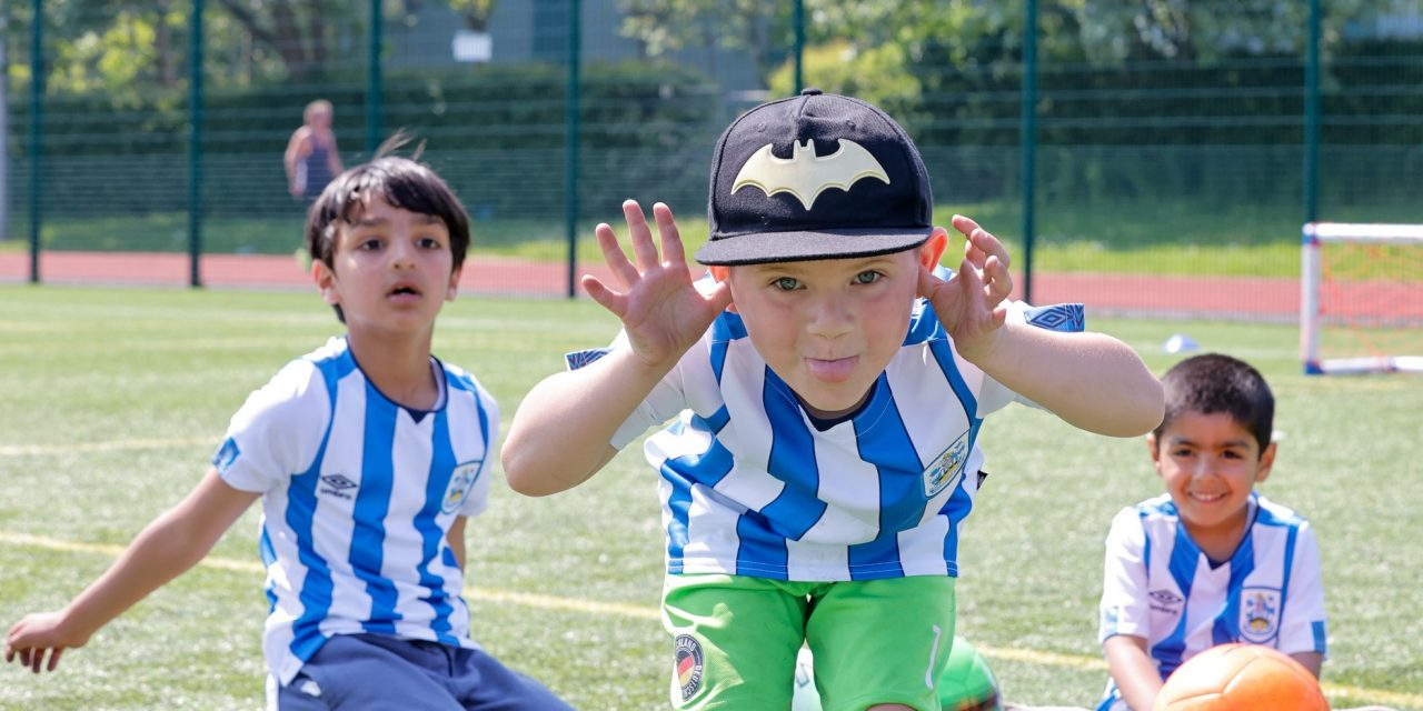 Bat to the future with Tomorrow's Terriers and Huddersfield Town Foundation