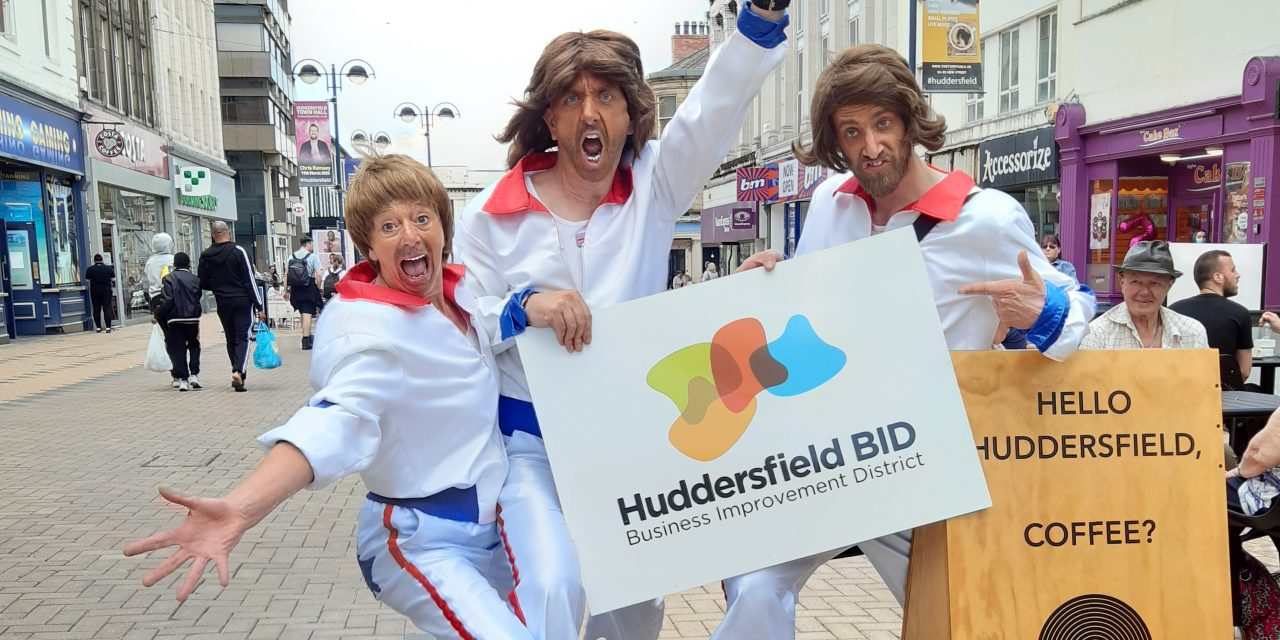 Get down to Super Saturday in Huddersfield town centre