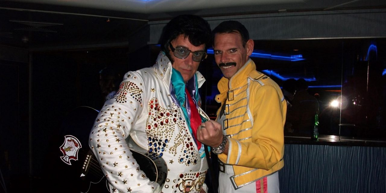 Elvis, Freddie Mercury and the time Brian and Elaine Hayhurst were booed for holding up a flight