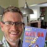 Poet Conrad Burdekin inspires children to love books and reading